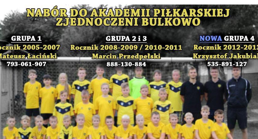 Sport, NABÓR AKADEMII PIŁKARSKIEJ ZJEDNOCZENI BULKOWO - zdjęcie, fotografia
