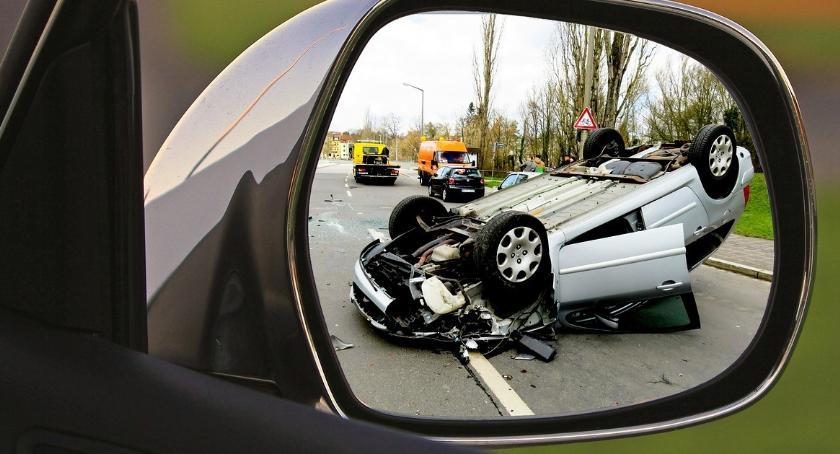 Wypadki, Wypadki drogowe Polsce statystyki - zdjęcie, fotografia