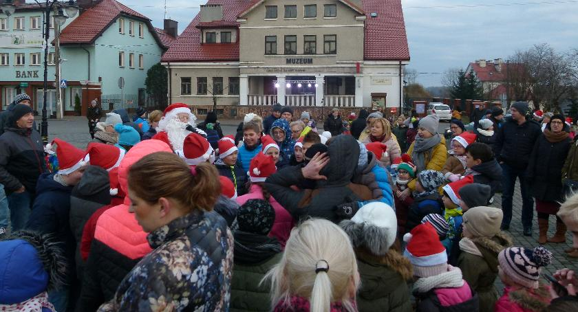Samorząd, Mikołajkowo wigilijne spotkanie mieszkańców Gminy Miasta Wyszogród - zdjęcie, fotografia