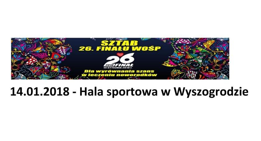 Koncerty, finał WOŚP Wyszogrodzie - zdjęcie, fotografia