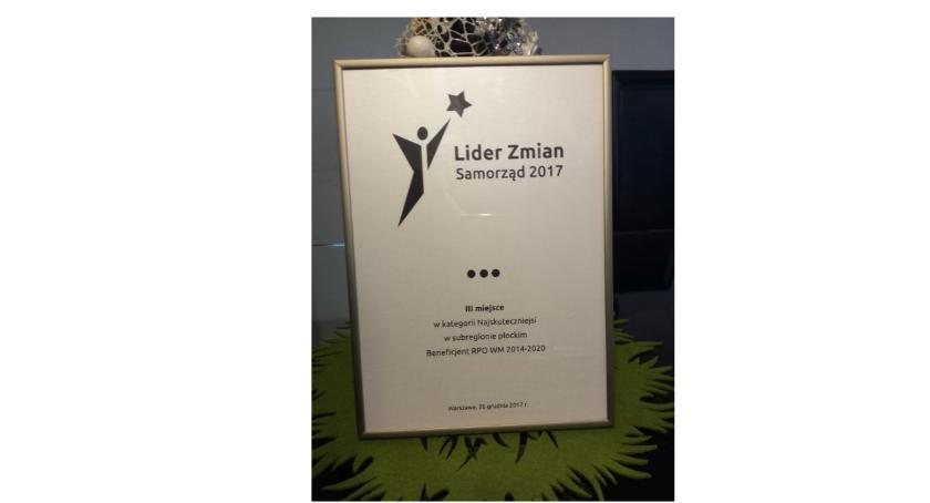 Samorząd, Gmina Miasto Wyszogród Laureatem konkursu pozyskiwania środków unijnych - zdjęcie, fotografia