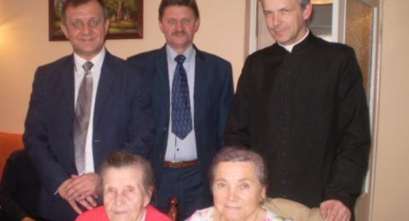 Ludzie, Najstarsza mieszkanka Gminy Wyszogród - zdjęcie, fotografia
