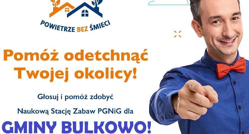 Samorząd, Gmina Bulkowo dołączyła kampanii społecznej Fundacji PGNiG Ignacego Łukasiewicza Pomóżmy - zdjęcie, fotografia