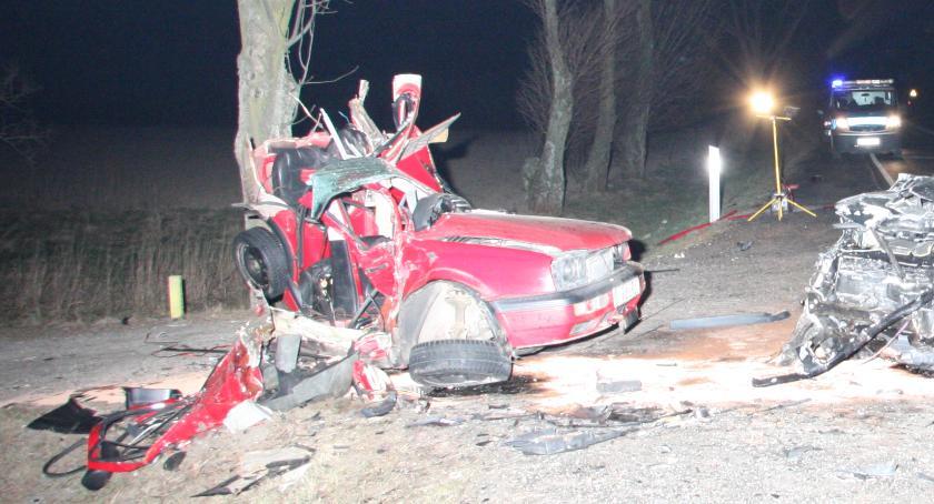Wypadki, Tragiczny wypadek drodze miejscowości Sielec Czerwińsk - zdjęcie, fotografia