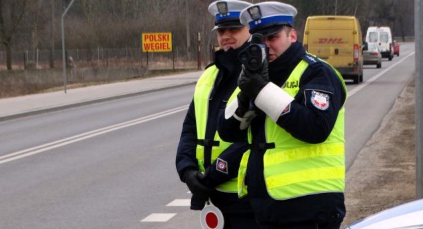 Komunikaty policji, Płocku - zdjęcie, fotografia