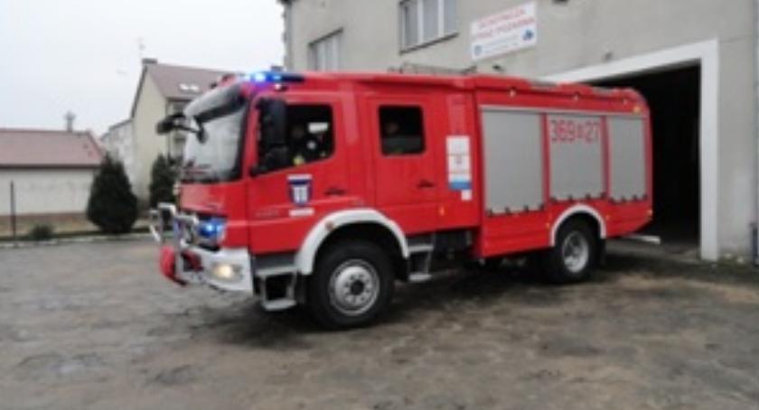 Pożary, Wyróżnienie Strażaków Wyszogrodu - zdjęcie, fotografia