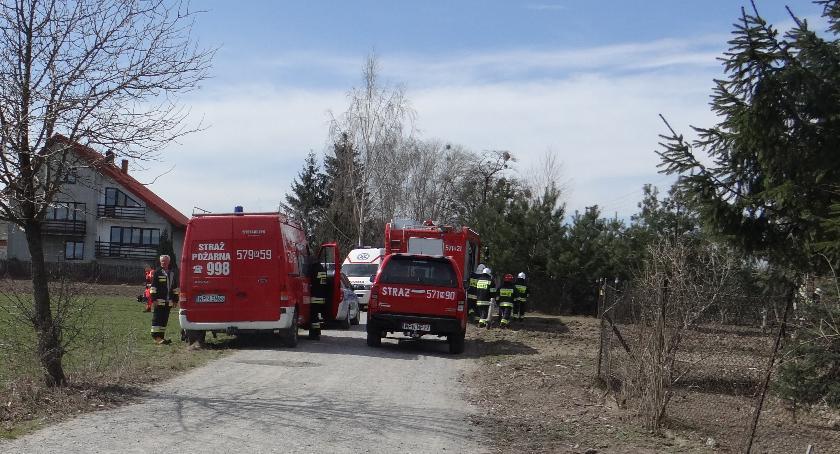 Pożary, Pożar Goławinie - zdjęcie, fotografia
