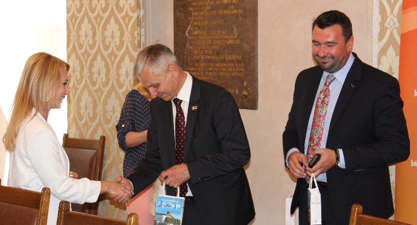 Samorząd, Delegacja parlamentu litewskiego roboczą wizytą ziemi płockiej - zdjęcie, fotografia