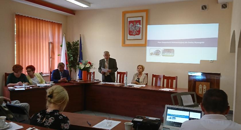 Samorząd, XLVII Sesja Gminy Miasta Wyszogród - zdjęcie, fotografia