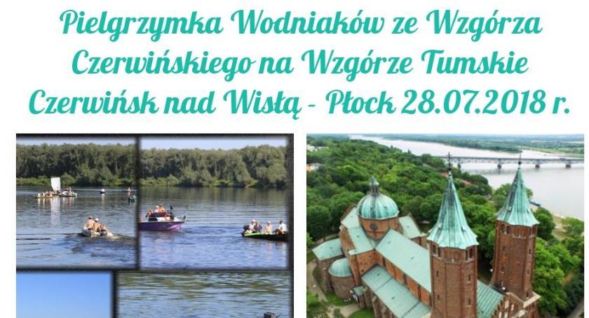 Religia, Pielgrzymka Wodniaków Wzgórza Czerwińskiego Wzgórze Tumskie - zdjęcie, fotografia