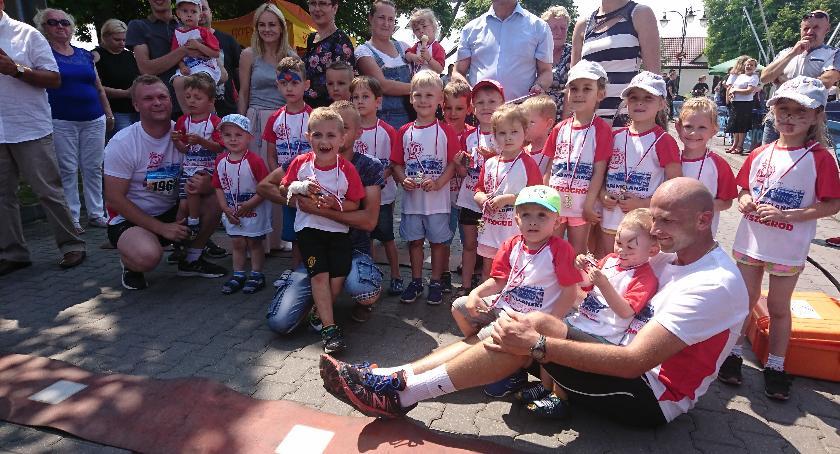 Sport, Nadwiślański Cross Wyszogrodzki Dzień Dziecka - zdjęcie, fotografia