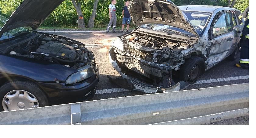 Wypadki, Wypadek Wyszogrodzie - zdjęcie, fotografia