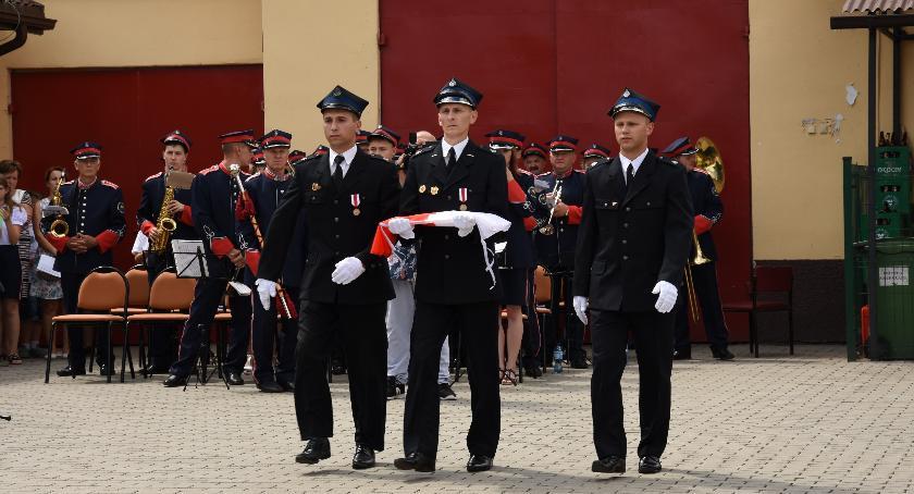 Pożary, Ochotniczej Straży Pożarnej Rębowie - zdjęcie, fotografia