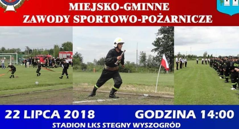 Pożary, Miejsko Gminne Zawody Sportowo Pożarnicze Wyszogród - zdjęcie, fotografia
