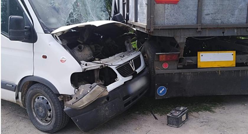 Wypadki, Wypadek miejscowości Murkowo - zdjęcie, fotografia