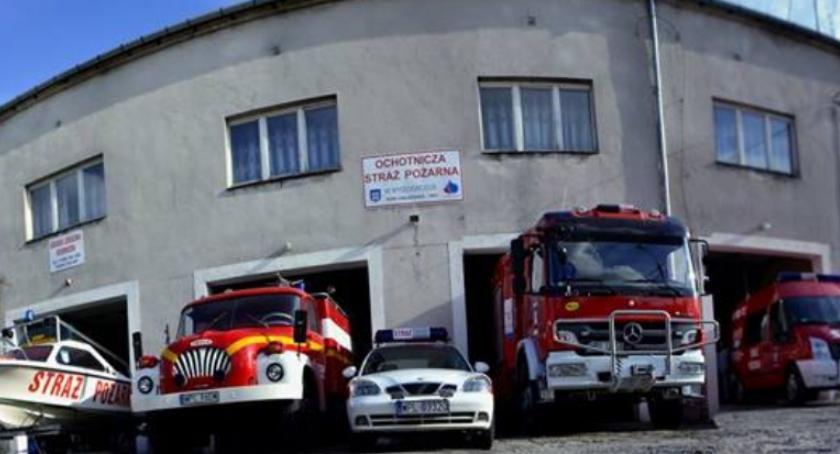 Pożary, Komunikat dotyczący Wyszogród - zdjęcie, fotografia