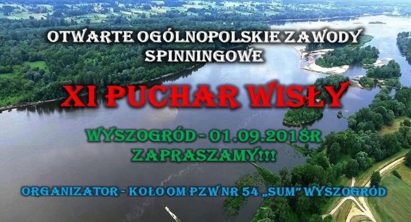 Sport, Puchar Wisły Otwarte Ogólnopolskie Zawody Spinningowe - zdjęcie, fotografia