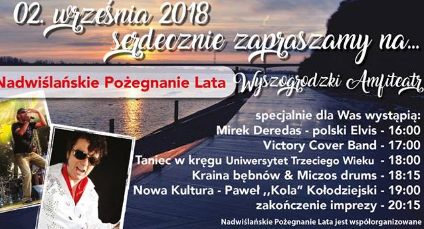 Koncerty, Nadwiślańskie Pożegnanie Wyszogród września - zdjęcie, fotografia