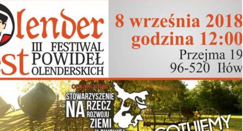 Kultura, Olenderfest Festiwal Powideł Olenderskich - zdjęcie, fotografia