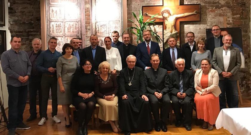 Ciekawostki, Jubileuszowy Dziennikarski Podwieczorek Biskupa - zdjęcie, fotografia