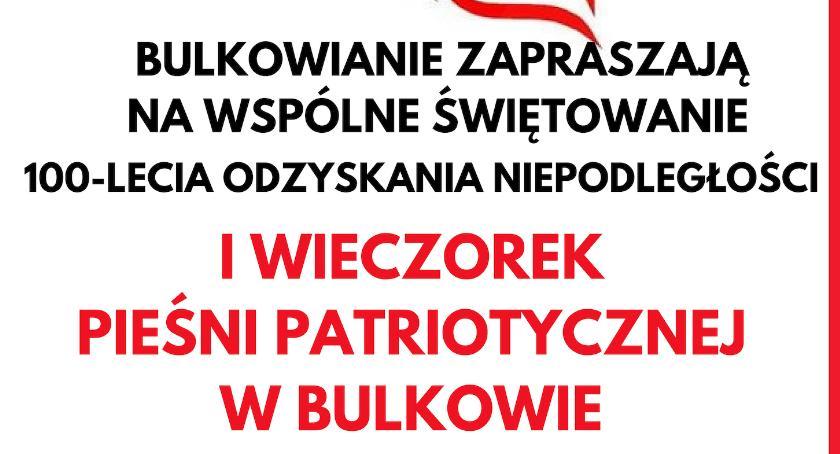 Historia, Wieczorku Pieśni Patriotycznej listopada Bulkowie - zdjęcie, fotografia