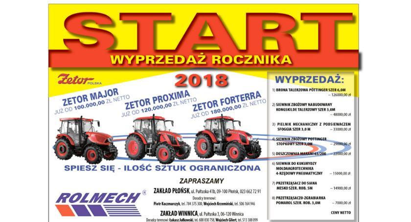 Gospodarka, Rolmech Płońsk Promocja Zetora - zdjęcie, fotografia