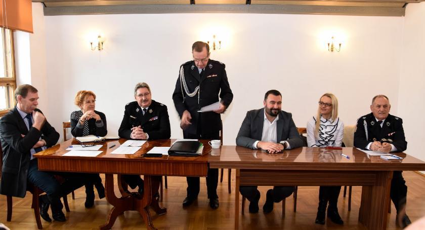 Samorząd, Posiedzenie Zarządu Miejsko Gminnego Wyszogrodzie - zdjęcie, fotografia