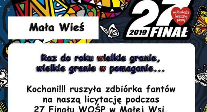 Koncerty, Ruszyła zbiórka fantów licytację podczas Finału WOŚP - zdjęcie, fotografia