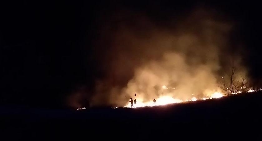 Pożary, Pożar Kamionie - zdjęcie, fotografia