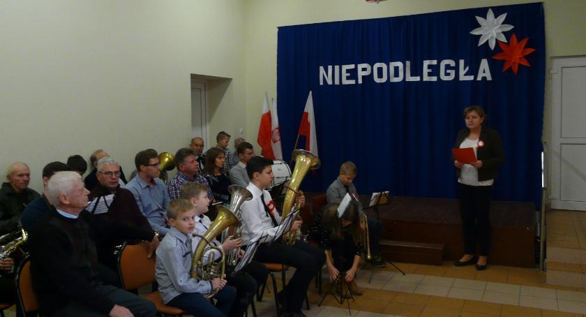Historia, Narodowe Święto Niepodległości Rębowie - zdjęcie, fotografia