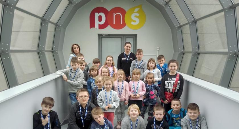 Turystyka, Wycieczka Warszawy uczniów Szkoły Podstawowej Rębowie - zdjęcie, fotografia