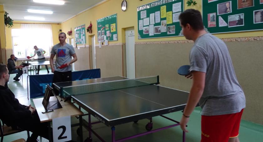 Sport, Turniej Tenisa Stołowego Goławinie - zdjęcie, fotografia