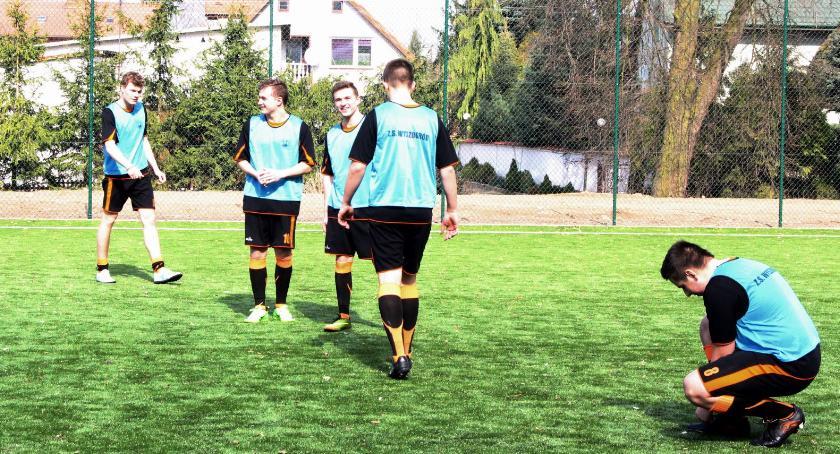 Sport, Otwarcie boiska piłki nożnej Wyszogrodzie - zdjęcie, fotografia