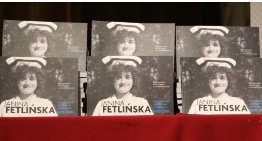 Historia, Inauguracja książki senator Janinie Fetlińskiej Niepokalanowie - zdjęcie, fotografia