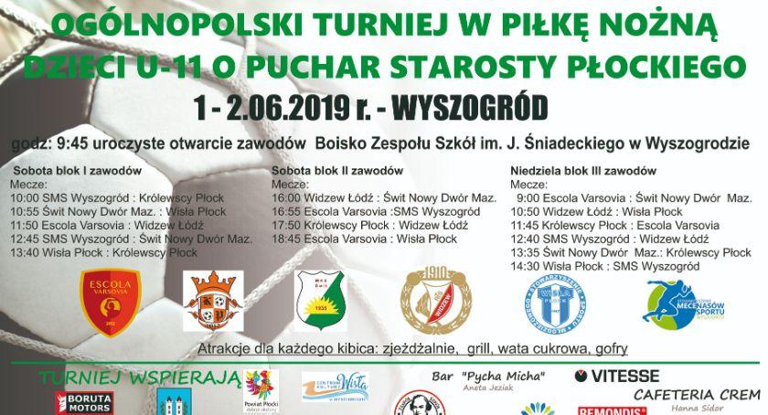 Sport, Ogólnopolski Turniej Piłkarski Chłopców Puchar Starosty Płockiego –Sportowy Dzień Dziecka - zdjęcie, fotografia