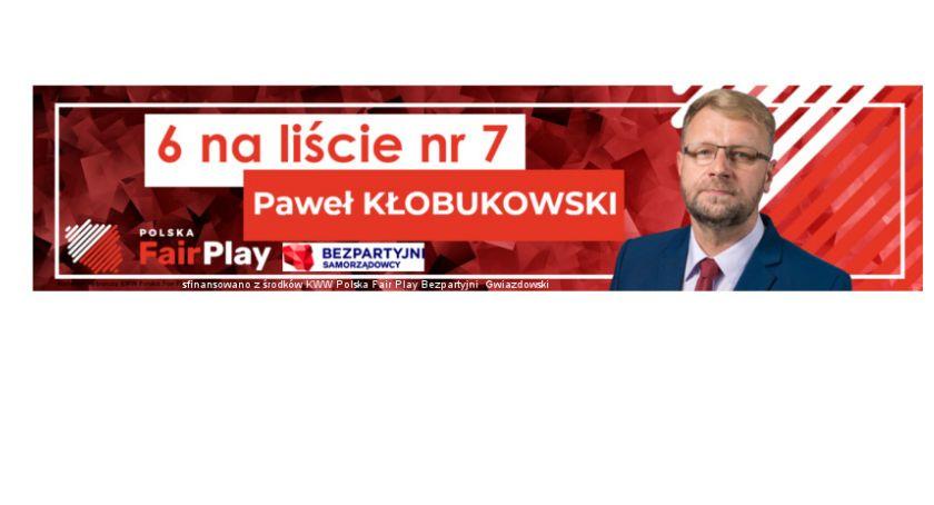 Ludzie, Paweł Kłobukowski lista Polska Bezpartyjni Gwiazdowskl - zdjęcie, fotografia