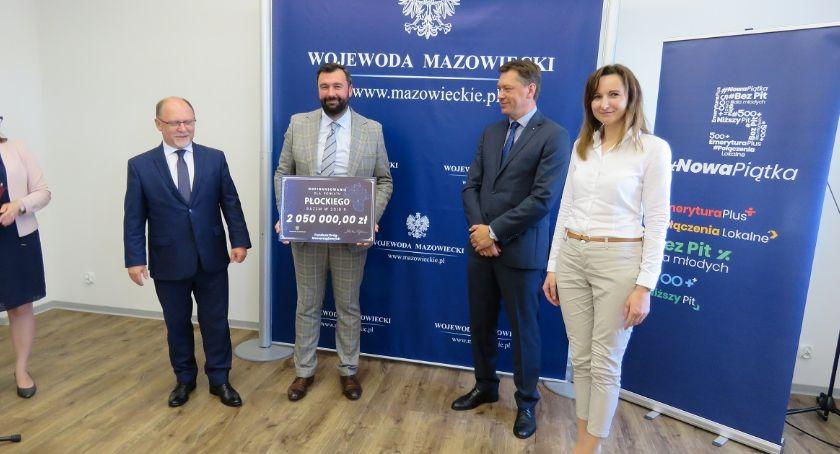 Samorząd, Fundusz Dróg Samorządowych ponad subregionu płockiego - zdjęcie, fotografia