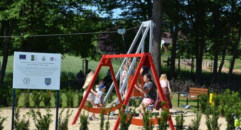 Sport, Bodzanowie powstała siłownia zabaw dzieci - zdjęcie, fotografia