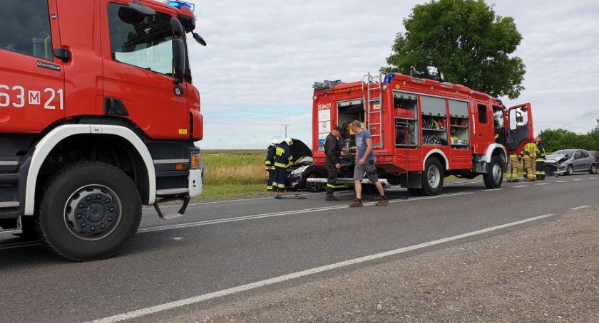 Komunikaty policji, Wypadek Wyszogrodzie - zdjęcie, fotografia