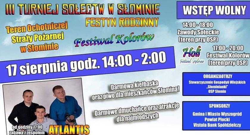 Koncerty, Turniej Sołectw (Słomin - zdjęcie, fotografia