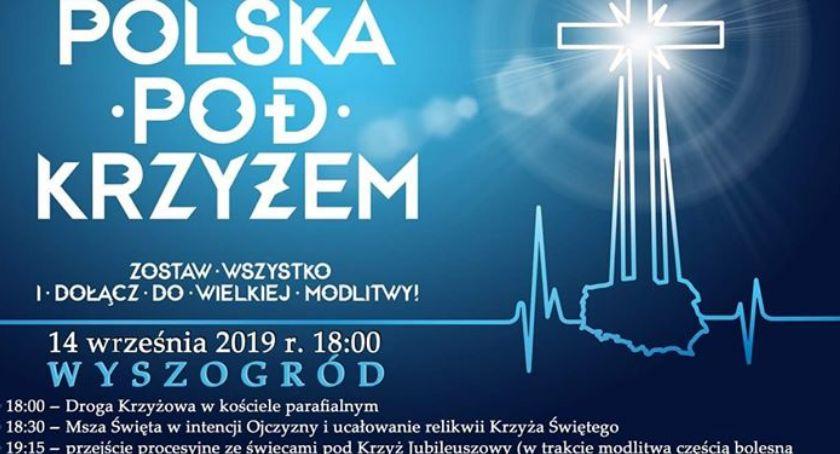 Religia, Polska Krzyżem Wyszogrodzie - zdjęcie, fotografia