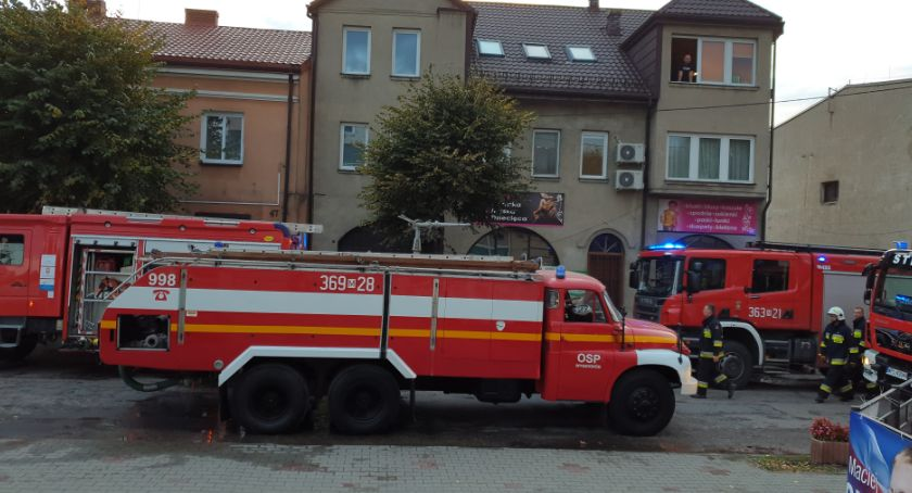 Pożary, Pożar piwnicy mieszkalnego Wyszogrodzie Rebowskiej - zdjęcie, fotografia