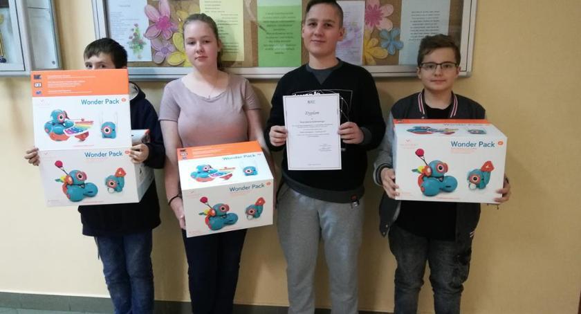Oświata, Młodzi mechatronicy Wyszogród - zdjęcie, fotografia