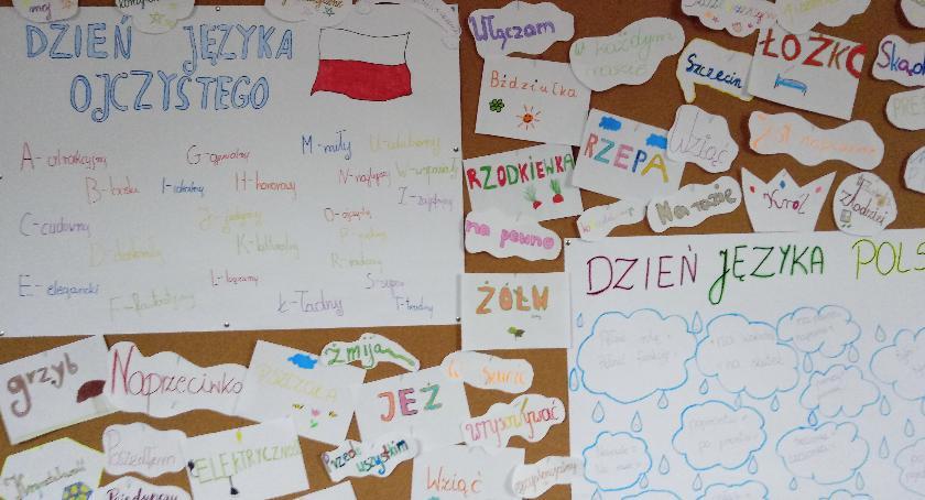 Oświata, Międzynarodowy Dzień Języka Ojczystego Wyszogród - zdjęcie, fotografia