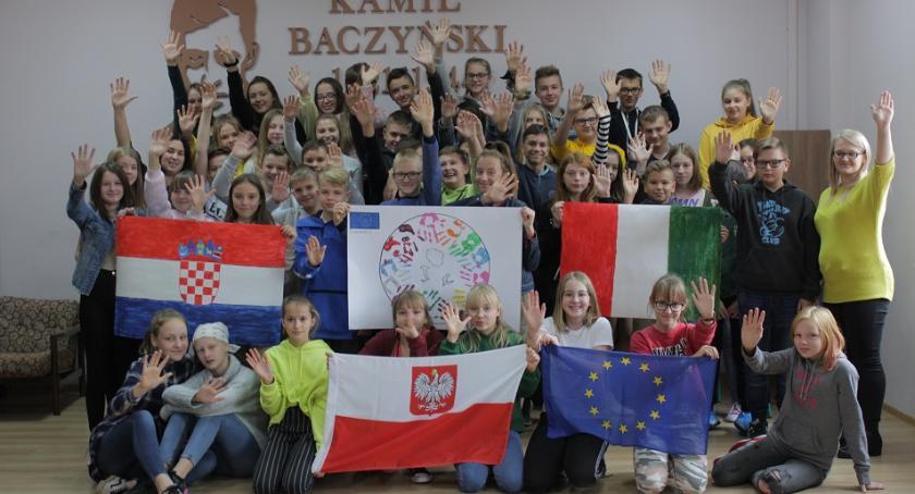 Oświata, ERASMUS Wyszogród - zdjęcie, fotografia