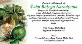 Życzenia Świąteczne Mała Wieś