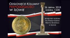 Odsłonięcie Kolumny Niepodległości w Iłowie