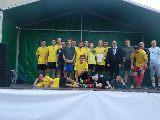 Pierwsze miejsce ZKS Bulkowo-Praga podczas Integracyjnego Turnieju Piłki Nożnej w Bulkowie