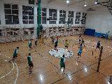 Sprawdzian sportowy siatkarzy ZKS Bulkowo-Praga Volley Team