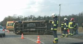 Brody wypadek na drodze nr 62 - 31 marca 2017